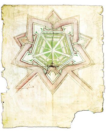 Geometria dell'architettura militare francesco i d'este e la